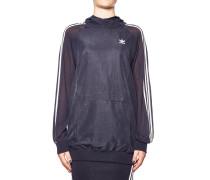 Sweatshirt in Materialmix