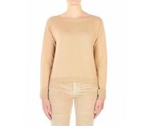 Pullover mit Strass-Manschetten