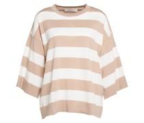 Leichter Pullover mit Querstreifen