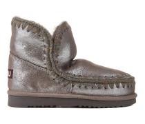 "Metallic Shearling-Boots ""Eskimo"""