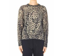 Pullover mit Animal-Muster