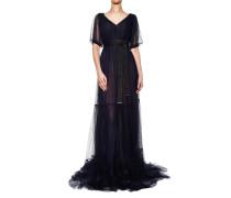 Langes Kleid aus Tüll