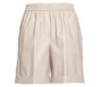 Shorts in Eco-Leder