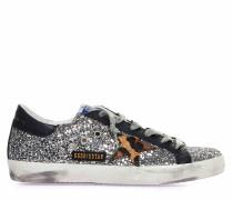 "Sneaker ""Superstar Classic"" mit Glitzer"