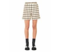 Shorts in Bouclé