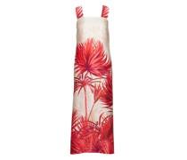 Kleid mit tropikalem Print