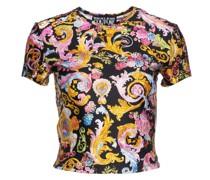 T-Shirt in Lycra mit Versailles Print
