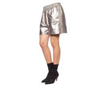 Metallic-Look Shorts