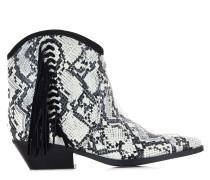 Cowboy Boots im Reptilien-Look