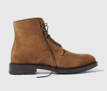 William II Tan Suede