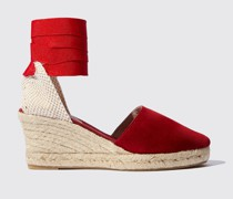 Paloma Red Suede