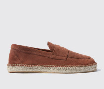 Diego brown suede