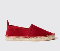 Lola Red Suede