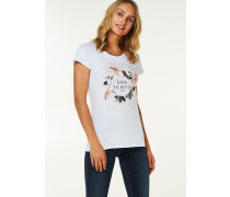 T-SHIRT 'FEATHERS'