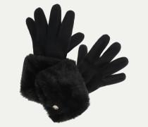 Handschuhe 'FAKE FUR'