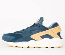 Nike Air Huarache Run SE - Armory Navy / Gum Yellow - Blue Fox
