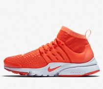 Nike Wmns Air Presto Flyknit Ultra - Bright Mango / Bright Crimson