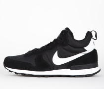 Nike Internationalist Mid - Black / White - White - Wolf Grey