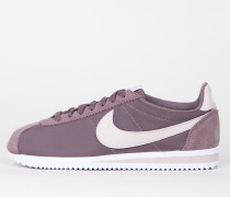 Nike Wmns Classic Cortez 15 Nylon - Taupe Grey / Silt Red - White