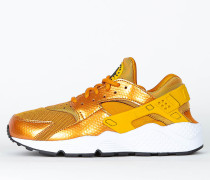 Nike Wmns Air Huarache Run - Sunset / Gold Dart - White - Black
