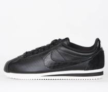 Nike Wmns Classic Cortez Leather Premuim - Black / Black - Ivory