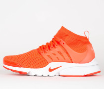 Nike Air Presto Flyknit Ultra - Total Crimson / White / Pink