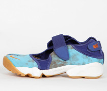 """Nike Wmns Air Rift Premium QS """"Kenya Valley Tie-Dye"""" - Dark Purple Dust / Summit White / Clay Orange"""
