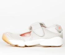 Nike Womens Air Rift - Light Bone / Bright Mango