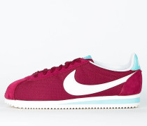 Nike Wmns Classic Cortez TXT - Noble Red / Sail - Hyper Turquoise