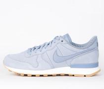 Nike Wmns Internationalist SE - Glacier Grey / Glacier Grey - Dark Sky Blue