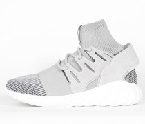 Adidas Tubular Doom Primeknit - Clear Granite / Vintage White / Utility Black