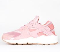 Nike Wmns Air Huarache Run Premium - Pink Glaze / Pearl Pink - Sail - Gum Med Brown