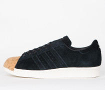 Adidas Superstar 80s Cork W - Core Black / Core Black / Off White