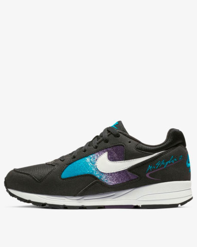 Nike Air Skylon II - Black / White - Blue Lagoon - Grand Purple