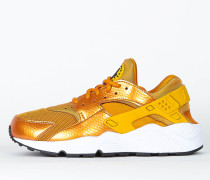 Nike Wmns Air Huarache Run - Sunset / Gold Dart - White - Black