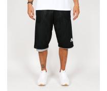 Nike Air Reversible Pick-Up Game Shorts - Black / Dark Grey Heather