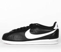 Nike Classic Cortez Premium - Black / White - Neutral Grey