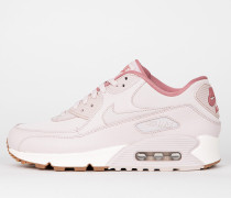 Nike Wmns Air Max 90 Leather - Silt Red / Silt Red - Red Stardust - Sail