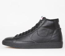 Nike Blazer Mid Premium - Black / White - White - Gum Light Brown