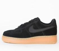 Nike Wmns Air Force 1 '07 SE - Black / Black - Gum Med Brown - Ivory