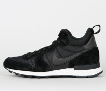 Nike Wmns Internationalist Mid - Black / Black
