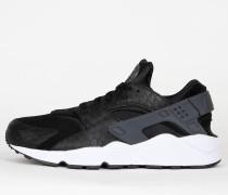Nike Air Huarache Run Premium - Black / Dark Grey - White