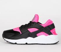 Nike Wmns Air Huarache Run - Black / Pink Blast / White