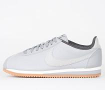 Nike Wmns Classic Cortez Leather Lux - Matte Silver / Matte Silver - Sail