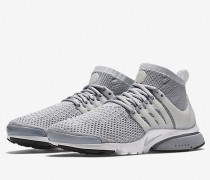 Nike Air Presto Flyknit Ultra - Wolf Grey / Pure Platinum - White - Black