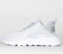 Nike Wmns Air Huarache Run Ultra Jacquard - White / Metallic Silver