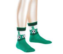 Soccer Kinder Socken Grün Gr. 39-42