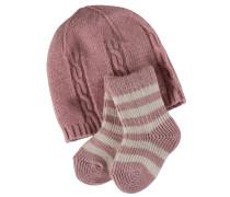 Giftset Kinder Socken Rosa Gr. 62-68