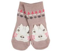Snow Bunny Baby Socken