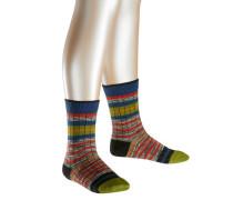 Ribstripe Kinder Socken